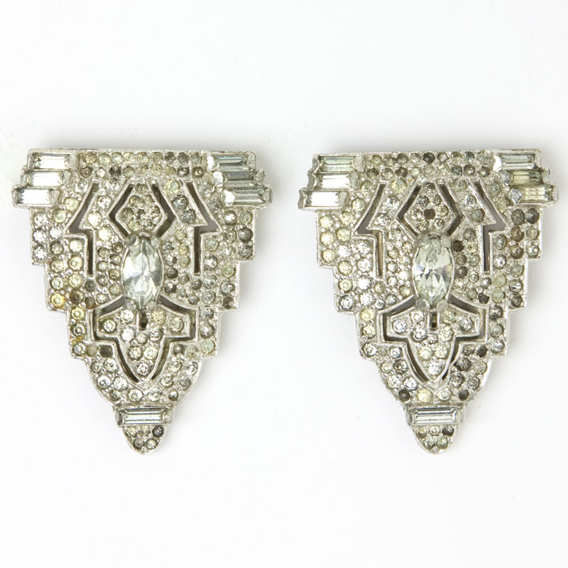 Pair of dress clips