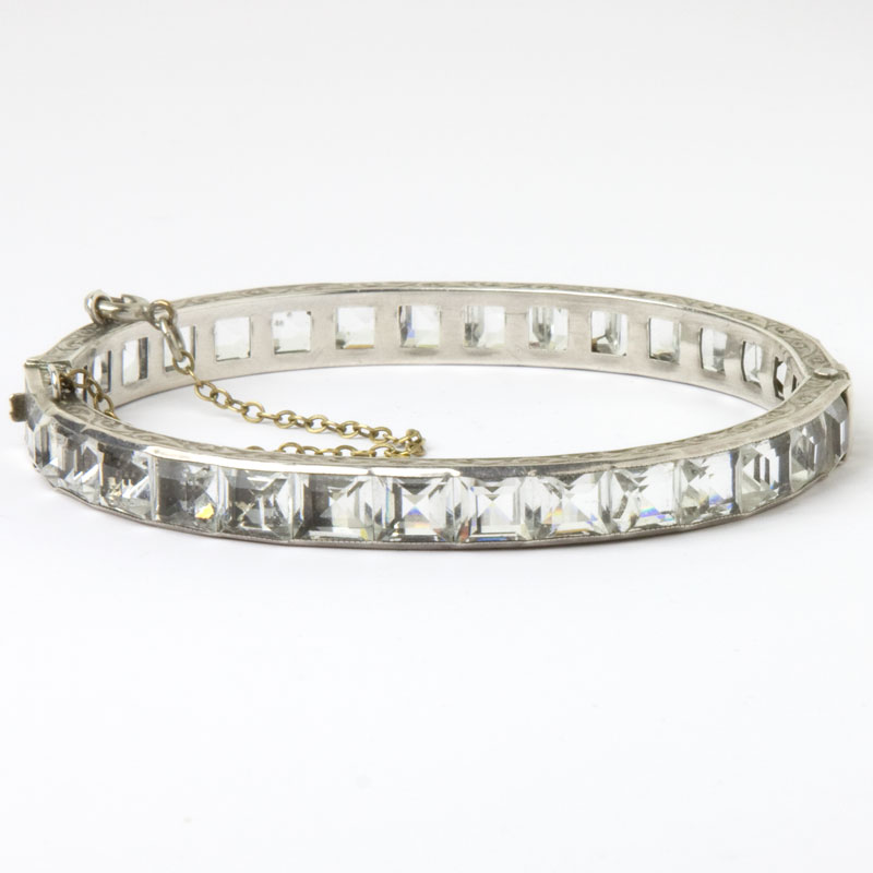 Front view of Payco bangle bracelet