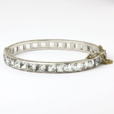Back view of Payco crystal bangle