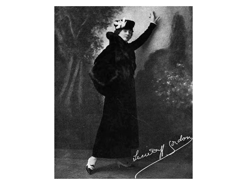 Lucile fashion designer -- photo in 1916 Good Housekeeping