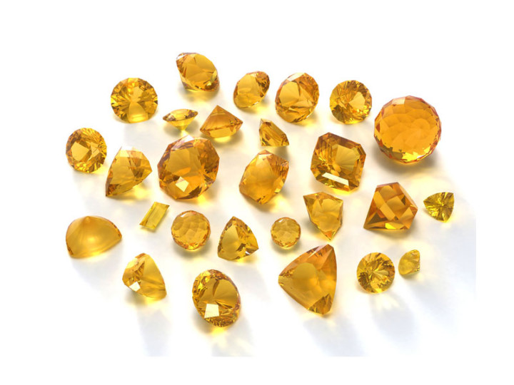 How to Wear November's Birthstones: Citrine-Topaz