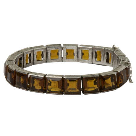 Wide Diamonbar line bracelet