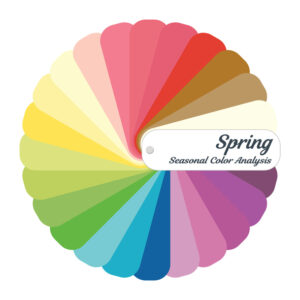 Spring palette; warm color palette