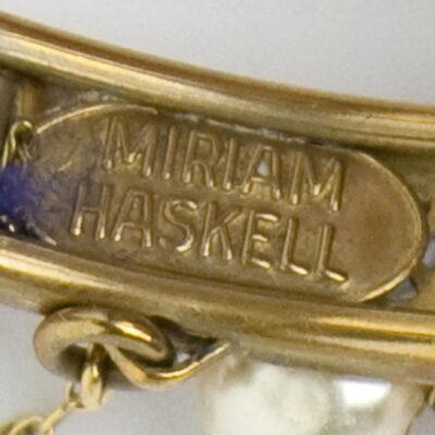 Miriam Haskell signature