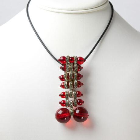 Miriam Haskell brooch/clip as pendant