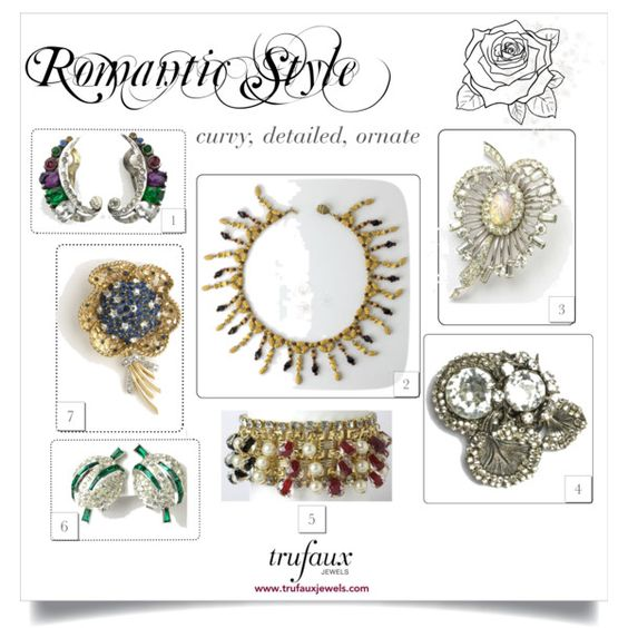 Jewelry for the Romantic woman