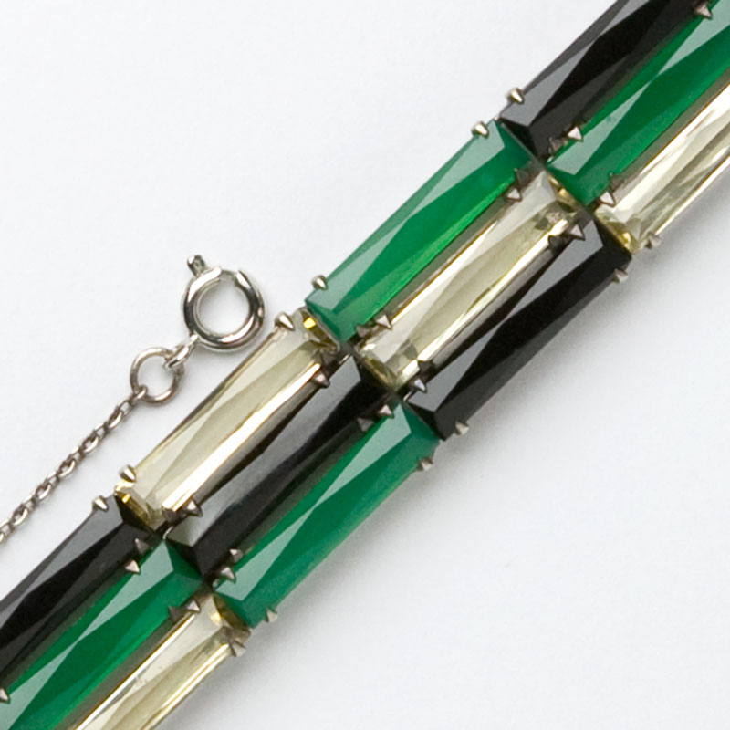 Close-up view of 1930s German bracelet
