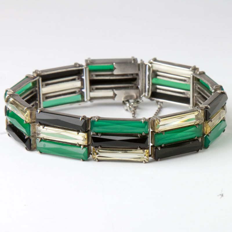 Outstanding 1930s German Art Deco bracelet