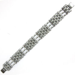 Chrome link Machine Age bracelet