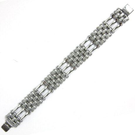 Chrome link Machine Age bracelet