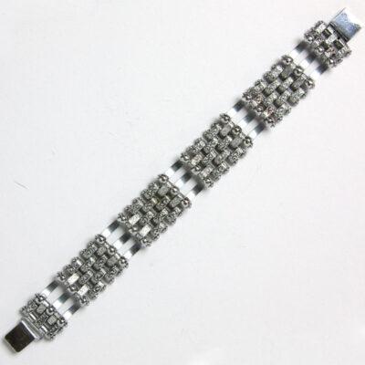 Back of chrome link bracelet