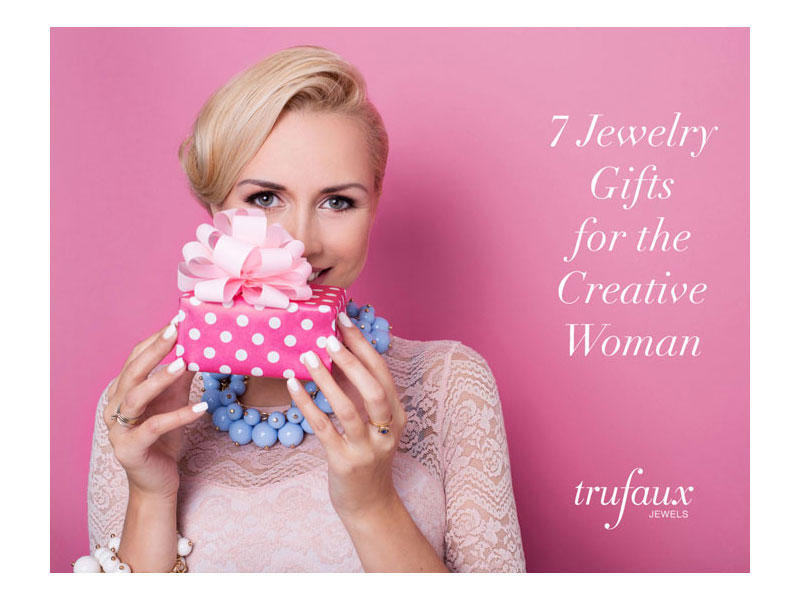 Jewelry gifts for her - the creative woman