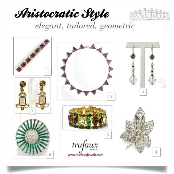 Jewelry gifts for Aristocratic personality style
