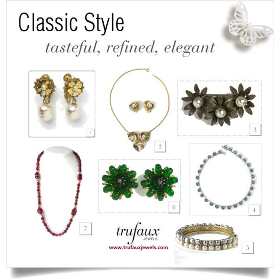 Jewelry for the classic style personality