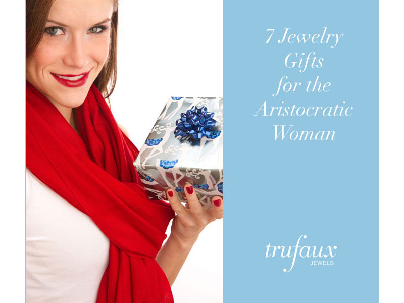 Jewelry gifts for women with Aristocratic style