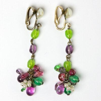 1950s Louis Rousselet earrings