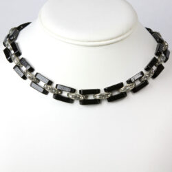 Art Deco Machine Age necklace