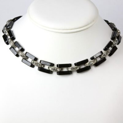 Art Deco Machine Age necklace