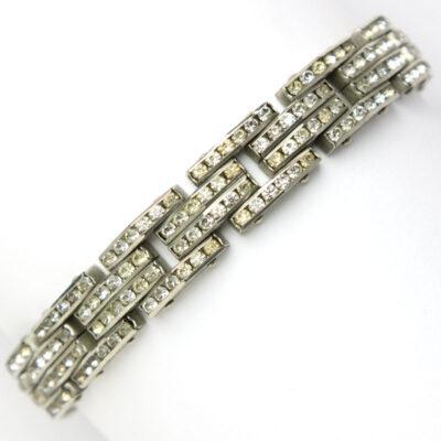 1950s German tank track bracelet