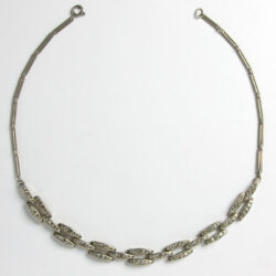 Diamante link Machine Age necklace