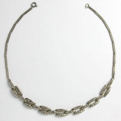 Diamante link Machine Age necklace