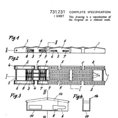 British utility patent for expansion mechanism