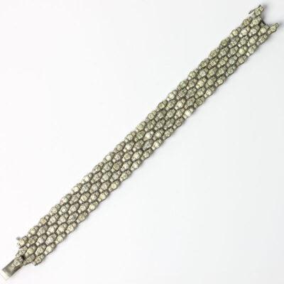 Honeycomb bracelet by Schreiber & Hiller