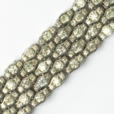 Close-up view of bracelet pattern