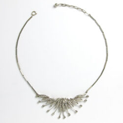 1950s German bib necklace