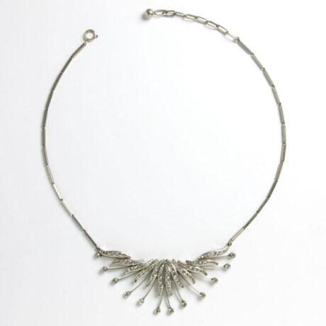 1950s German bib necklace