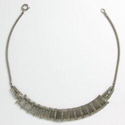 Front of German snake chain necklace