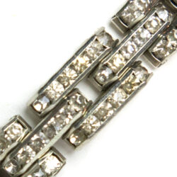 Close-up view of bracelet front