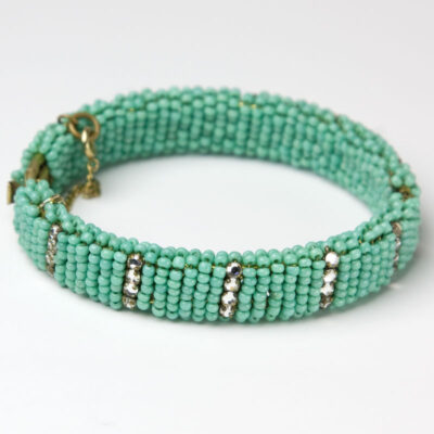 1940s Miriam Haskell bracelet