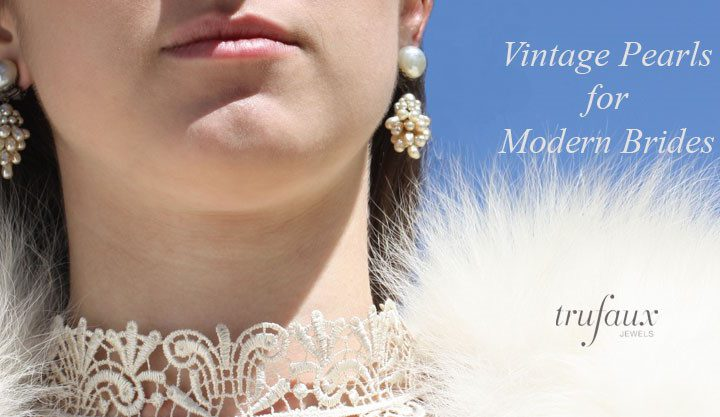 Vintage Pearls for Modern Brides