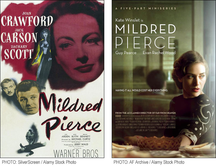 Mildred Pierce costumes - star power vs. authenticity