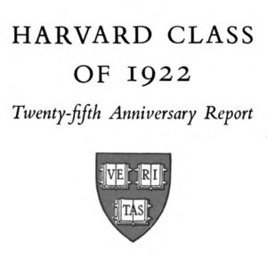 Edward O. Otis, Jr.'s Harvard class