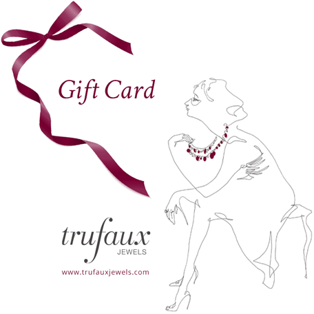 Gift card from TruFaux Jewels