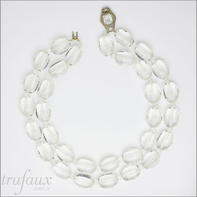Glass Bead 2-Strand Necklace