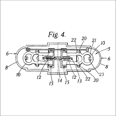 Technical Drawing from British Patent 410,696